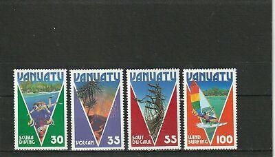 VANUATU 1986 -- TOURISM --SET of 4 - MNH