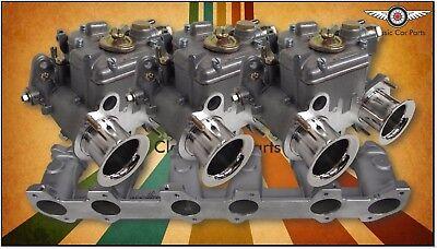 Chrysler Valiant Hemi - FAJS Triple 40 DCOE (Weber Copy) Side Carburettor Kit comprar usado  Enviando para Brazil