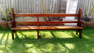 Church Pews...Old timber...Whitfield Aloomba Cairns Surrounds Preview