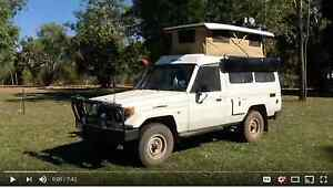1996 Toyota Troopcarrier RV built to Travel the World Melbourne CBD Melbourne City Preview