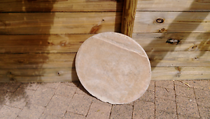 Round Concrete Stepping Stone Aloomba Cairns Surrounds Preview