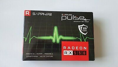 Sapphire Pulse AMD Radeon RX 550 2G, 2GB GDDR5, DVI, HDMI, DP