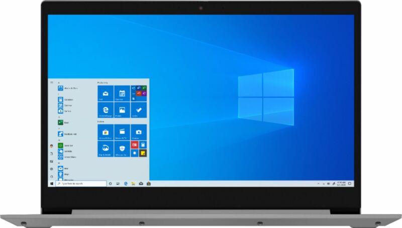 """Lenovo - IdeaPad 3 17"""" Laptop - AMD Ryzen 7 3700U - 12GB Memory - 1TB HDD + 1..."""