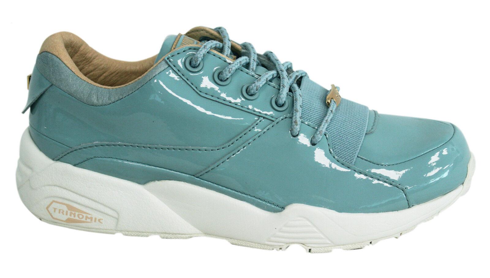 Femmes Chaussures Puma Femmes R698 Patent Nude Slate 362274 02