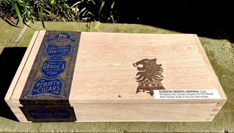 Undercrown Maduro Empty Cigar Box, No Cigars