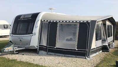 ISABELLA COMMODORE AWNING - SEED 1075  - ** 3M  XTRA DEEP ** - CARBON-X POLES