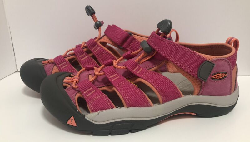 Keen kids pink and orange size 4