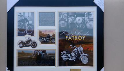 Harley Davidson picture frame