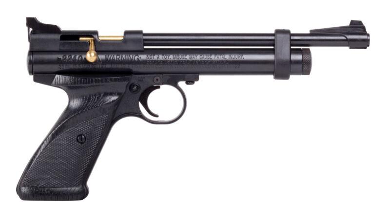 Crosman 2240 Bolt Action .22 Pellet CO2 Air Pistol