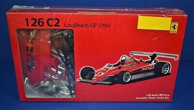 Fujimi 1/20 Ferrari 126 C2 Long Beach GP 1982 GP2 SEALED Kit 90337