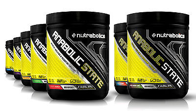 Nutrabolics Anabolic State Muscle Building & Recovery (30 Servings) Best by (Best Muscle Building Powder)