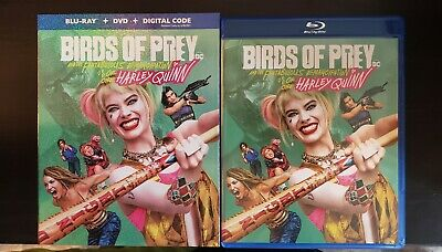 Birds Of Prey Blu-Ray+DVD No Digital With Slipcover