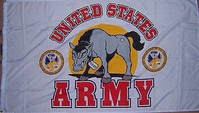 NEW U.S. ARMY MASCOT 3ftx5ft FLAG