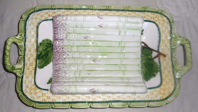 Ancora Italy Asparagus Cradle Serving Platter Tray