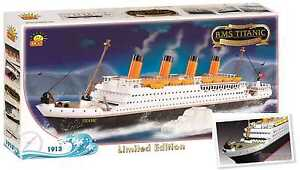 RMS TITANIC,Limited Edition,101st Anniversary,450 pcs,building bricks,ship model