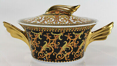 Versace Barocco by Rosenthal, Paul Wunderlich Ikarus Form Oval Covered Vegetable