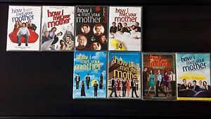 How I met your mother - seasons 1 to 8