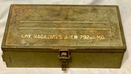 British Cold War 7.62 Bren Magazine Box