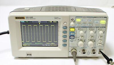 Rigol Ds1102e 2 Channel 100mhz 1gsas Digital Oscilloscope Qty