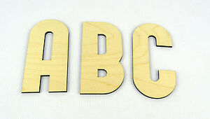 XXL Wooden Alphabet Letters / Wall Hanging / Nursery Decor / Alphabet Wall