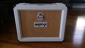Orange rocker 30 combo (limited edition 2009 white) Revesby Heights Bankstown Area Preview