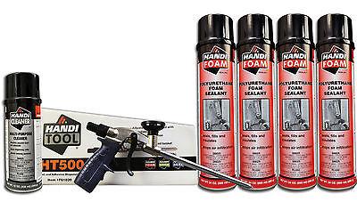 Handi Foam Sealant - Gun Foam Combo Pack Ht500 Cleaner 4 24oz Cans Sealant