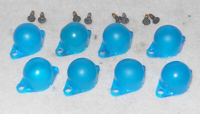 1967 1968 1969 1970 Mustang Mach 1 Shelby Cougar GAUGE LIGHT BULB BLUE DIFFUSERS