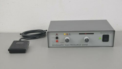 Parkell Sensimatic Electrosurge 600SE Dental Electrosurgery Unit w/ Footswitch
