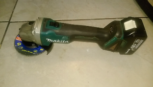 Makita 18 volt brushless grinder and battery St Marys Penrith Area Preview