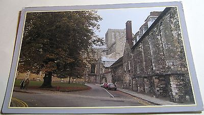 England Cathedral Close Winchester PHA00727 DRG J Arthur Dixon - posted 1992