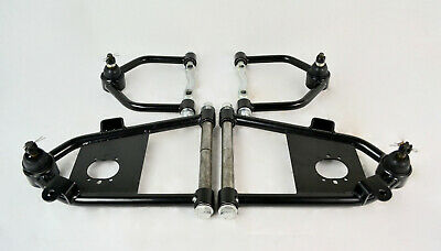Mustang II Control Arms Air Ride Tubular Upper & Lower A Arms Hot Rod Custom