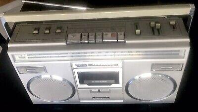 Vtg  Panasonic Platinum RX-5100 AM FM Stereo Cassette Boombox works great