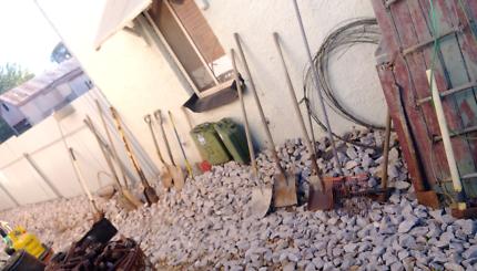 Garden tools...lots & lots