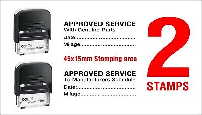 Garage Mechanics Rubber Stamp Self Inking Not Manual Excellent Service View