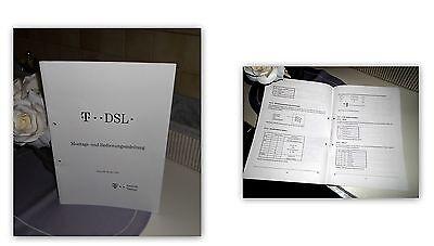 T-DSL Montage- und Bedienungsanleitung / Ausgabe 2000