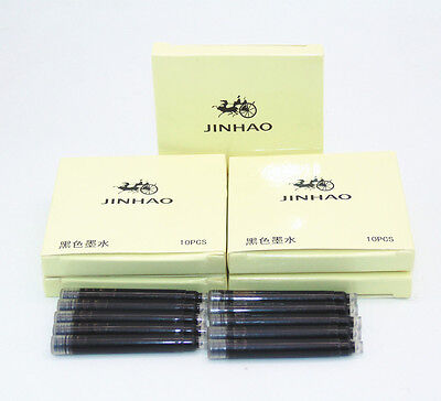 JINHAO 50pcs Black Ink Refill Cartridge Fountain Pen  Other For more brands