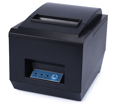 80mm 300mmsec Usb Thermal Receipt Printer Auto Cutter Pos-8250 For Ios Android