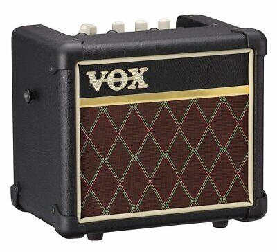 Vox 3W Mains/Battery Modeling Guitar Amplifier - Classic Vox - MINI3-G2CL