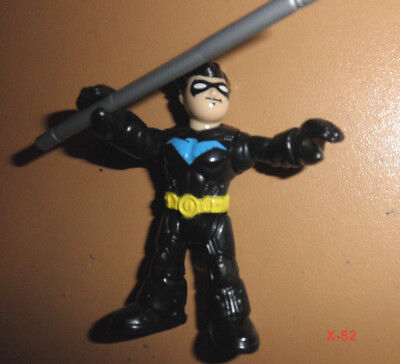 NIGHTWING former robin DC IMAGINEXT figure TOY batman UNIVERSE justice league