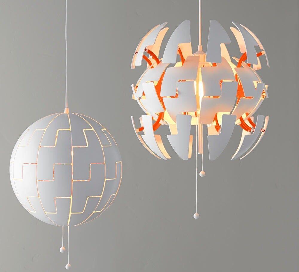 ikea ps 2014 orange pendant light/lamp. star wars/sci-fi style. | in