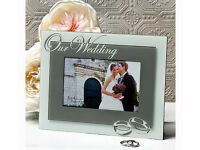 New Wedding Photo Frame - Boxed and unopened