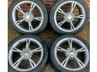 Seat Leon FR 17 inch Alloy Wheels 5 x 112 Genuine Fork MK2 7j et54 225/45 r17