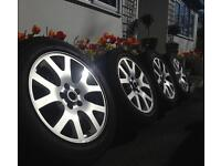 Genuine Range Rover Sport alloy wheels and tyres 255/55R/9
