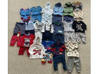 Baby boys clothing bundle 0-3
