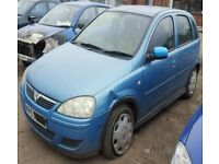 Vauxhall Corsa C Z20N Z10XEP breaking for spares.