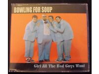 Bowling For Soup CD Single - Girl All The Bad Guys Want