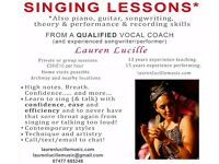 Specialised and Holistic Vocal Coaching/Singing Lessons