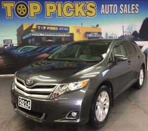 2014 Toyota Venza AWD, LOW MILEAGE, ONE OWNER!
