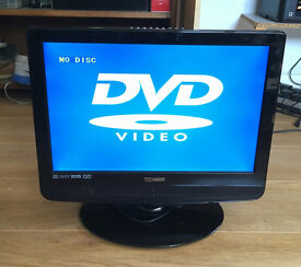 Small LCD TV, with built in DVD player