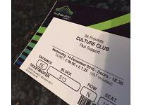 Culture Club Tickets x3 - SSE Arena, Wembley - £35 Each